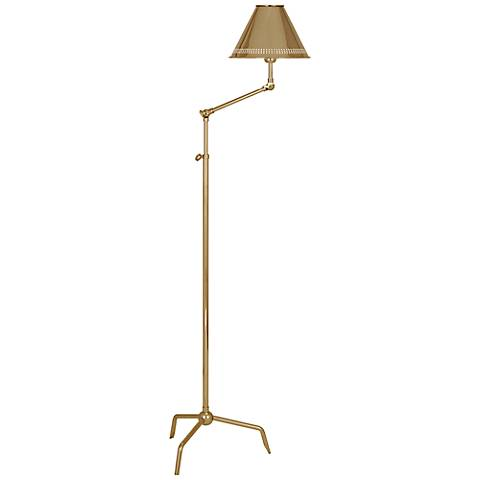 Jonathan Adler St. Germain Polished Brass Floor Lamp