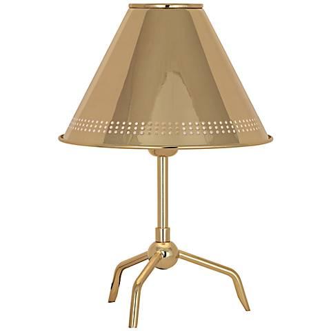Jonathan Adler St. Germain Polished Brass Accent Lamp