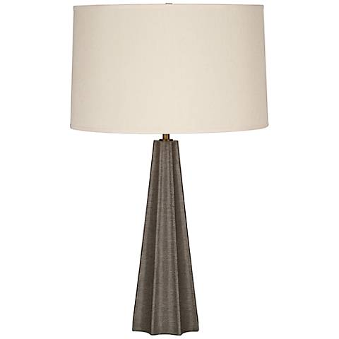 Robert Abbey Anna Shagreen Tapered Table Lamp