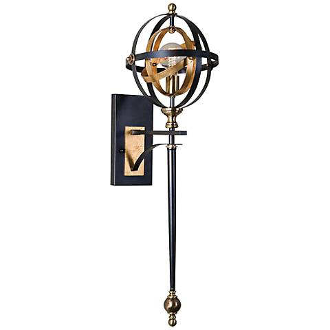 "Uttermost Rondure 36 1/4"" High Oil-Rubbed Bronze Wall Sconce"