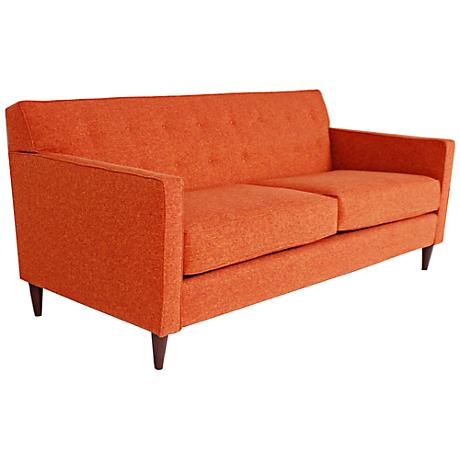 Brady Tang Fabric Upholstered Sofa