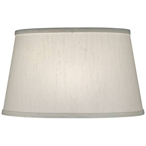 Stiffel Global White Tapered Drum Shade 12x14x9 (Spider)
