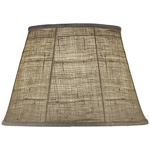 Stiffel Natural Burlap Empire Shade 10x16x11 (Spider)