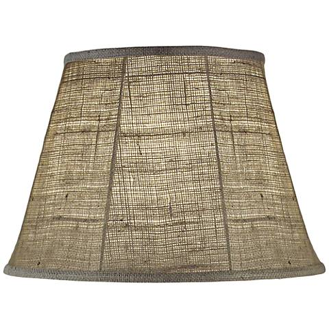 Stiffel Natural Burlap Empire Shade 11x18x12 (Spider)