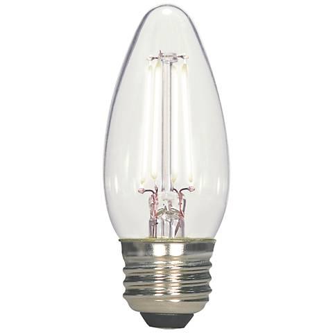 Satco 4.5 Watt Medium Base Torpedo LED Light Bulb