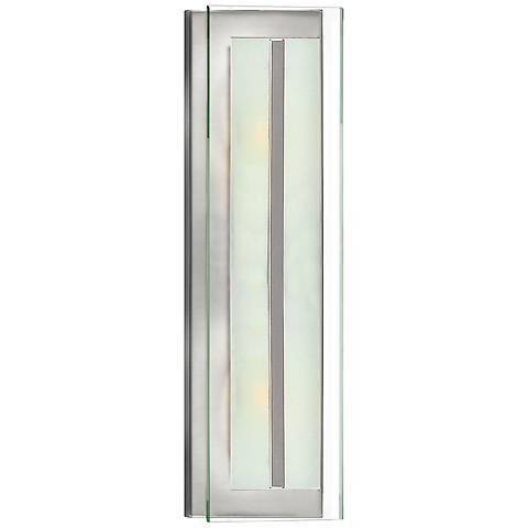 "Hinkley Latitude 21 1/2"" High Brushed Nickel Wall Sconce"