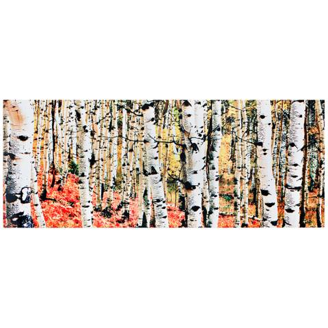 Metal Wall Art Lamps Plus : Aspen Grove Autumn Fall 48