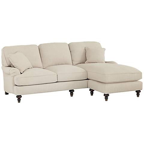 Sloane Sectional Sofa with Reversible Chaise