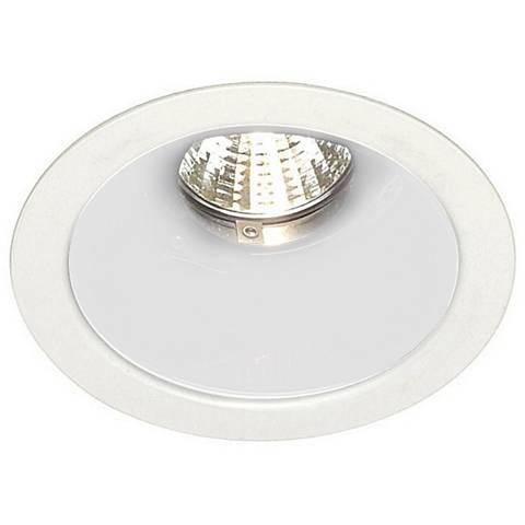 "Nora 4"" Low Voltage Deep White Cone Reflector Trim"