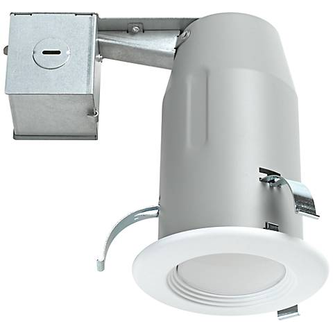 "3"" Flood Beam 9 Watt LED Complete Remodel Recessed Kit"