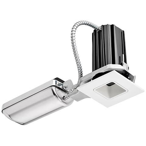 "2"" Juno SQA White Square 10W LED Complete Recessed Kit"