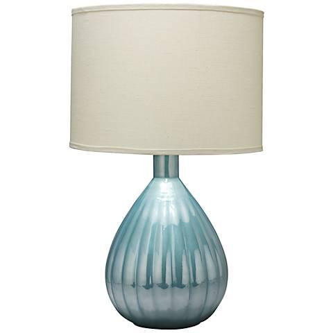 Jamie Young Akoya Gray Pearl Glass Table Lamp