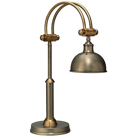 Jamie Young Crescent Gun Metal Desk Lamp