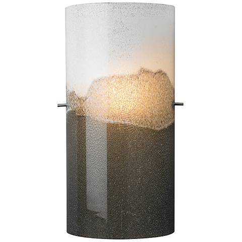 "LBL Dahling Bronze 15""H Multi-Tone Gray Glass Wall Sconce"