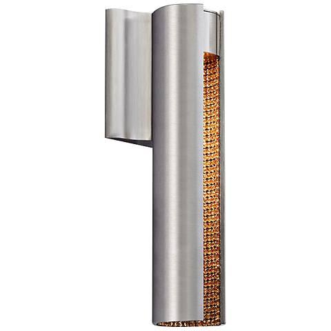 "LBL Dolly LED 11"" Tall Gold Rhinestone Wall Sconce"