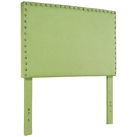 Brande Green Full/Queen Upholstered Headboard