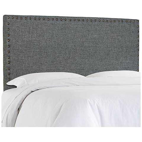 Brande Gray Full/Queen Upholstered Headboard