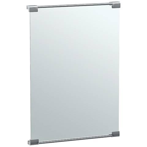 """Gatco Fixed Mount Chrome 22"""" x 31 1/2"""" Vanity Mirror"""