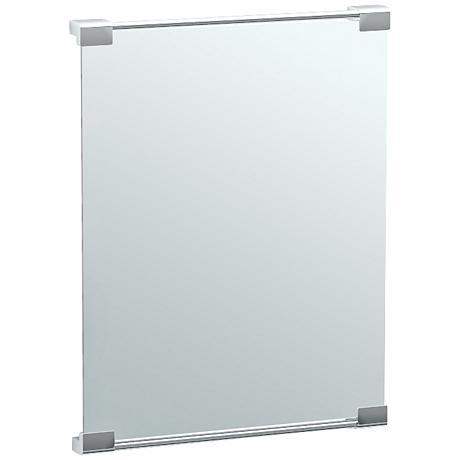 """Gatco Fixed Mount Chrome 19 1/2"""" x 25 1/2"""" Vanity Mirror"""