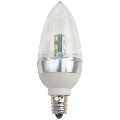2 Watt LED 12 Volt Candle Base Light Bulb
