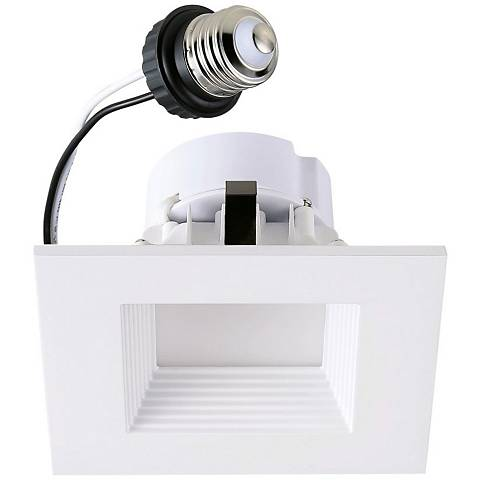 """4"""" Cyber Tech 12 Watt LED Retrofit Trim in White"""