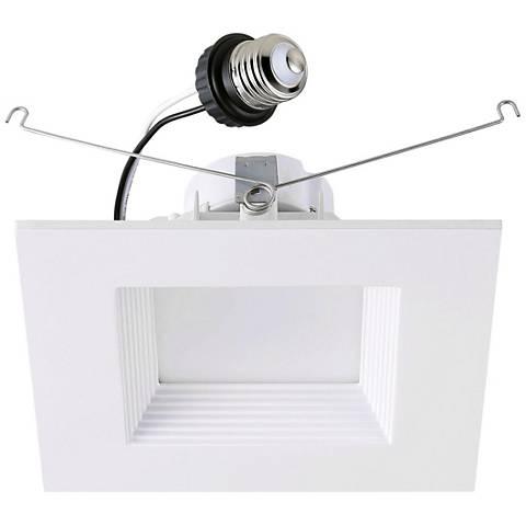 """6"""" Cyber Tech 19 Watt LED Retrofit Trim in Off-White"""