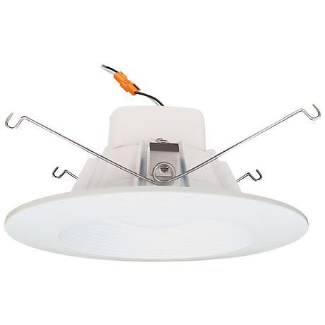 """5-6"""" Cyber Tech 13 Watt 3000K LED Retrofit Trim in White"""