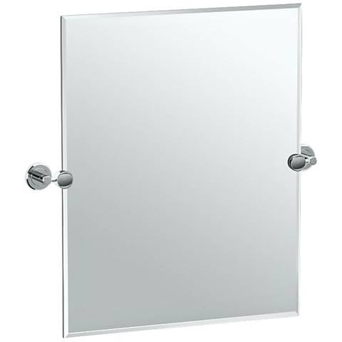 """Gatco Latitude II Chrome 24"""" x 24"""" Vanity Mirror"""