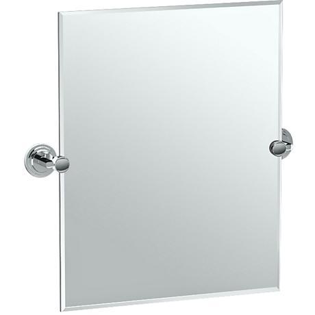 "Gatco Marina Chrome 24 3/4"" x 24"" Vanity Mirror"