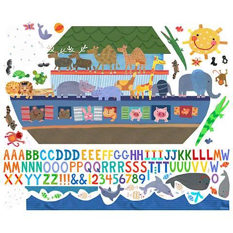 Noah's Ark Fabric Wall Decal Set