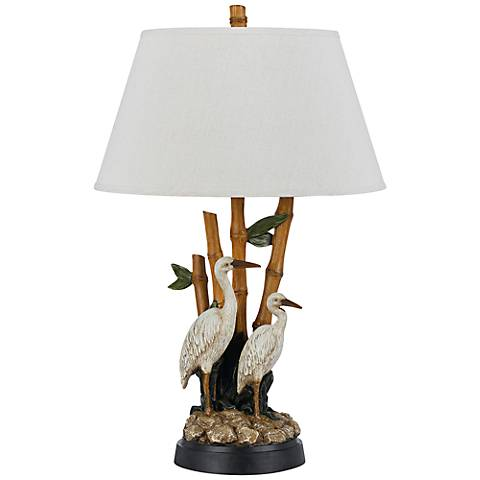 Barnstable Stork Tropical Table Lamp