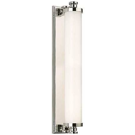 "Hudson Valley Sheridan LED 23 1/2"" Wide Nickel Bath Light"