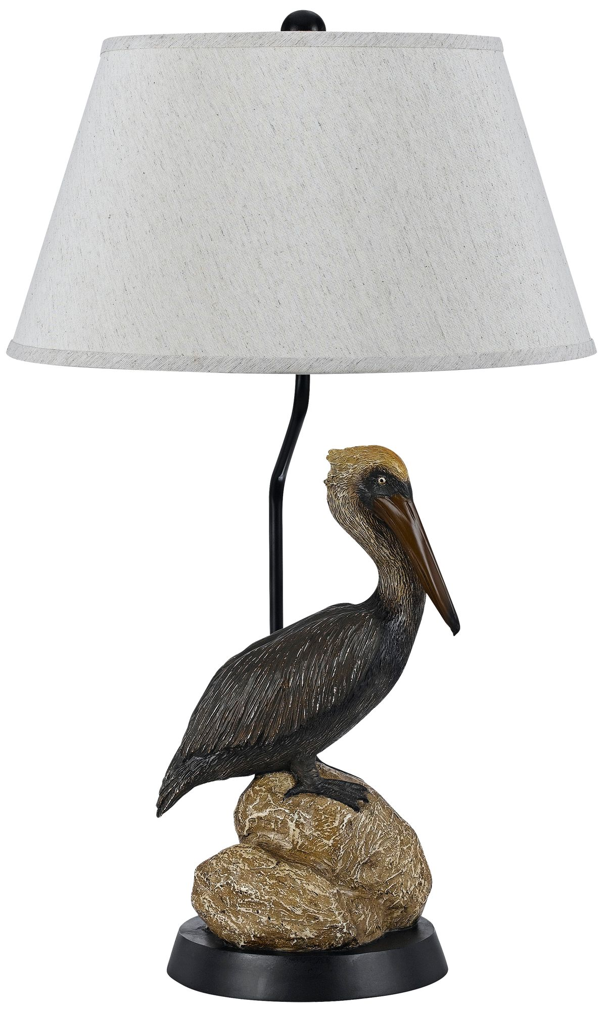 Marvelous Barnstable Pelican Tropical Table Lamp