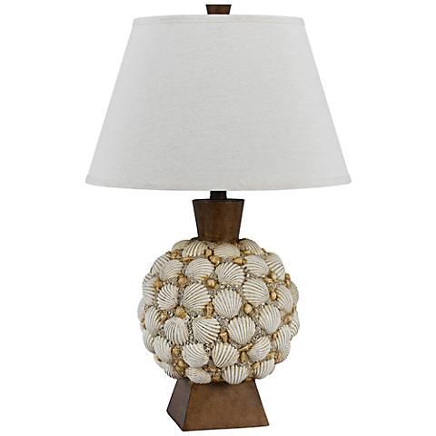 Falmouth Seashell Table Lamp