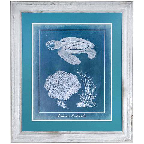 "Crestview Collection Sea Turtle II 34"" High Wall Art"