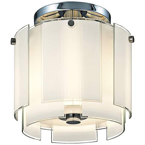 """Sonneman Velo 13""""W Polished Chrome Ceiling Light"""