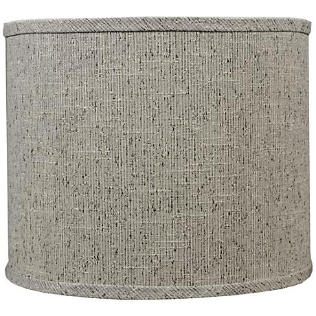 Siam Textured Brown Drum Lamp Shade 14x14x11(Spider)