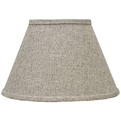 Siam Textured Brown Empire Lamp Shade 8x14x10.25 (Spider)