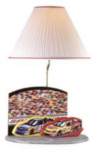 Lite Source NASCAR Speedway Logo Table Lamp