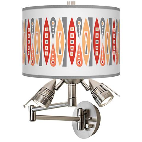 Vernaculis VI Giclee Swing Arm Wall Lamp