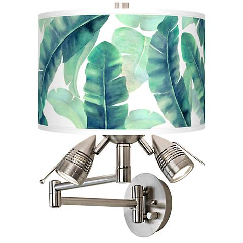 Guinea Giclee Swing Arm Wall Light