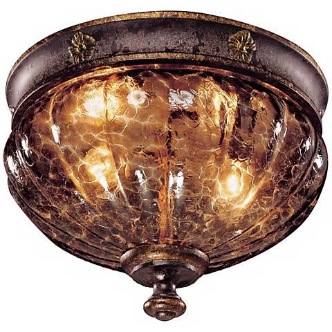"Metropolitan Sanguesa 9 1/2"" Wide Flushmount Ceiling Light"