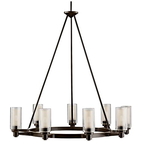 "Circolo Collection Olde Bronze 36"" Wide Chandelier"