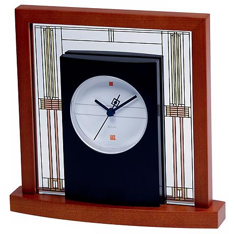 Bulova Frank Lloyd Wright's Willits House Table Clock