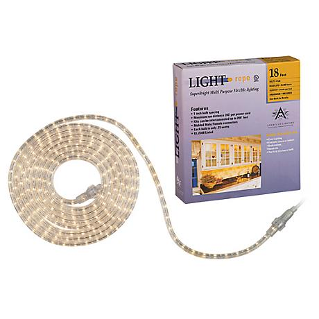 SuperBright 18 Foot Long Rope Light