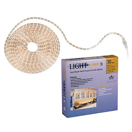SuperBright 30 Foot Long Rope Light