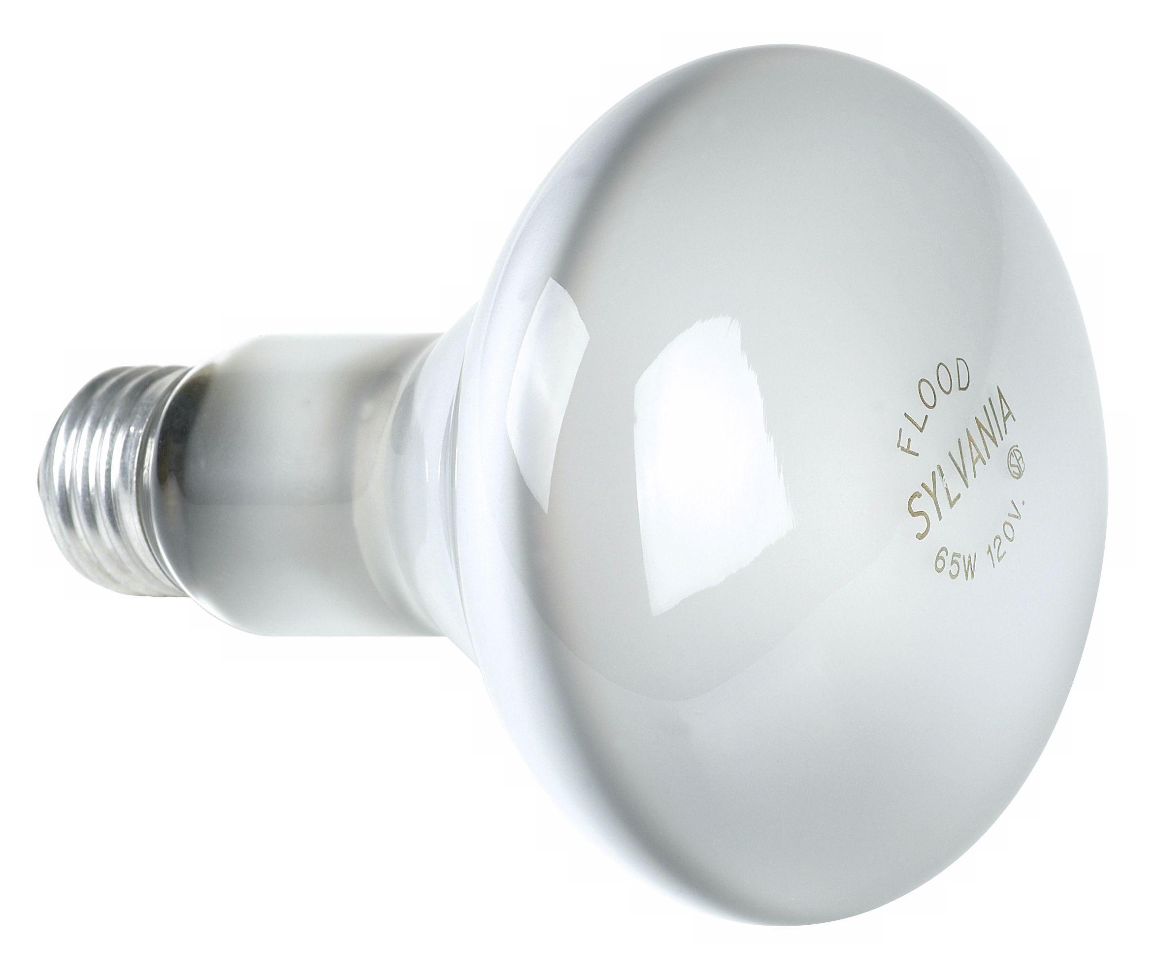 sylvania 65watt br30 flood light bulb