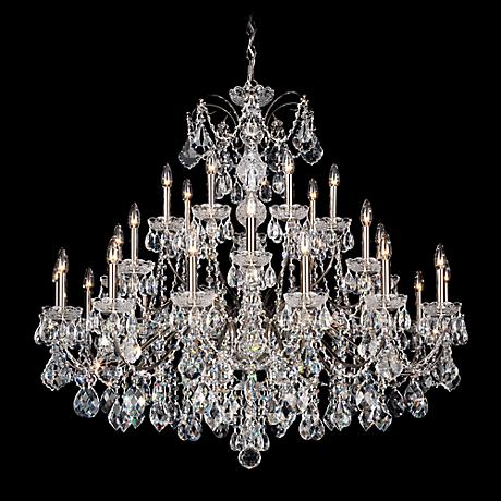 "Schonbek Century Collection 42 1/2"" Wide Crystal Chandelier"