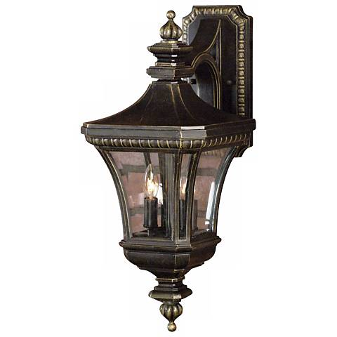 "Devon Collection 21"" High Top Mount Outdoor Wall Light"
