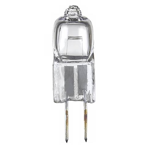 5-Watts 12- Volts G6.35 Bi-Pin Halogen  Light Bulb